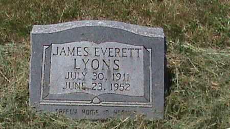 LYONS, JAMES EVERETT - Hancock County, Kentucky | JAMES EVERETT LYONS - Kentucky Gravestone Photos