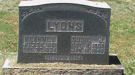LYONS, SUSIE J - Hancock County, Kentucky | SUSIE J LYONS - Kentucky Gravestone Photos