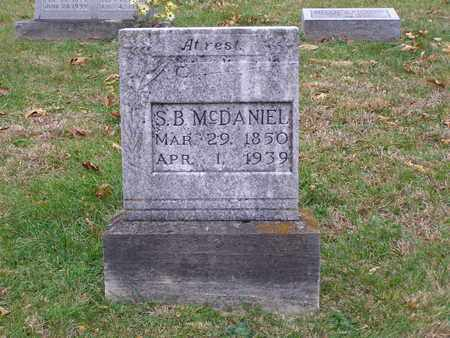 MCDANIEL, S B - Hancock County, Kentucky | S B MCDANIEL - Kentucky Gravestone Photos