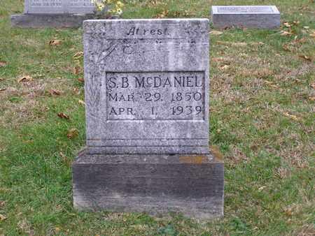 MCDANIEL, S B - Hancock County, Kentucky | S B MCDANIEL - Kentucky Gravestone Photos