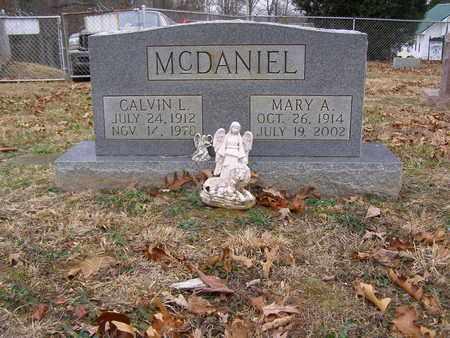 MCDANIEL, CALVIN L - Hancock County, Kentucky   CALVIN L MCDANIEL - Kentucky Gravestone Photos
