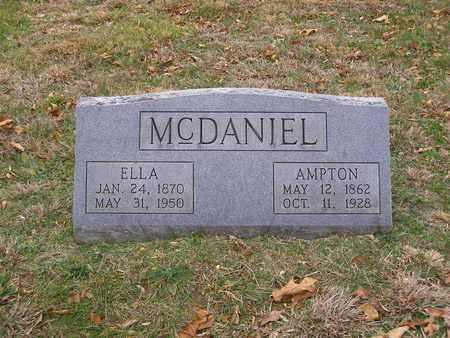 MCDANIEL, AMPTON - Hancock County, Kentucky | AMPTON MCDANIEL - Kentucky Gravestone Photos