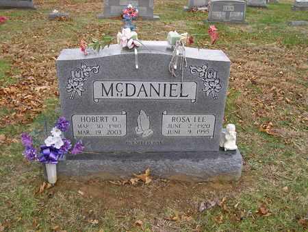 MCDANIEL, HOBERT O - Hancock County, Kentucky | HOBERT O MCDANIEL - Kentucky Gravestone Photos