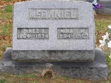 "MORRISON MCDANIEL, ELMINA ""MINA"" - Hancock County, Kentucky | ELMINA ""MINA"" MORRISON MCDANIEL - Kentucky Gravestone Photos"