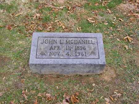 MCDANIEL, JOHN L - Hancock County, Kentucky | JOHN L MCDANIEL - Kentucky Gravestone Photos
