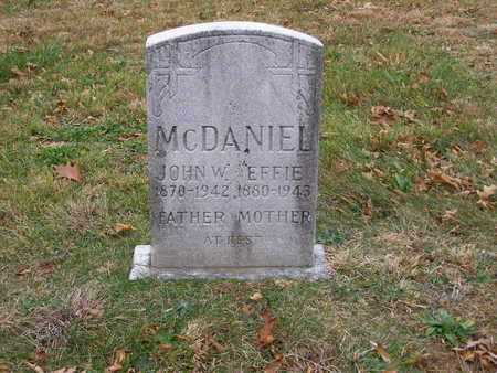 MCDANIEL, EFFIE - Hancock County, Kentucky | EFFIE MCDANIEL - Kentucky Gravestone Photos