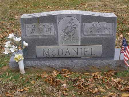 MCDANIEL, OPAL ERNESTINE - Hancock County, Kentucky   OPAL ERNESTINE MCDANIEL - Kentucky Gravestone Photos