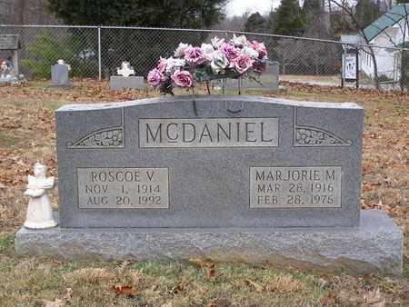 MCDANIEL, ROSCOE V - Hancock County, Kentucky   ROSCOE V MCDANIEL - Kentucky Gravestone Photos