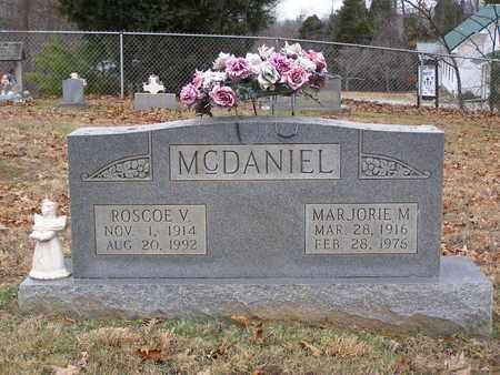 MCDANIEL, ROSCOE V - Hancock County, Kentucky | ROSCOE V MCDANIEL - Kentucky Gravestone Photos
