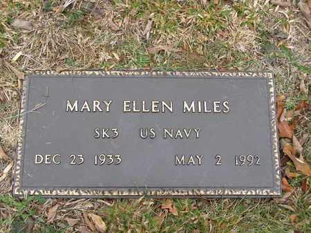 MILES (VETERAN), MARY ELLEN - Hancock County, Kentucky   MARY ELLEN MILES (VETERAN) - Kentucky Gravestone Photos