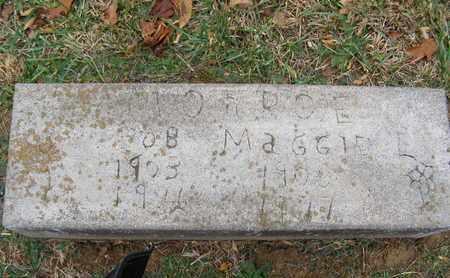 MONROE, MAGGIE - Hancock County, Kentucky | MAGGIE MONROE - Kentucky Gravestone Photos
