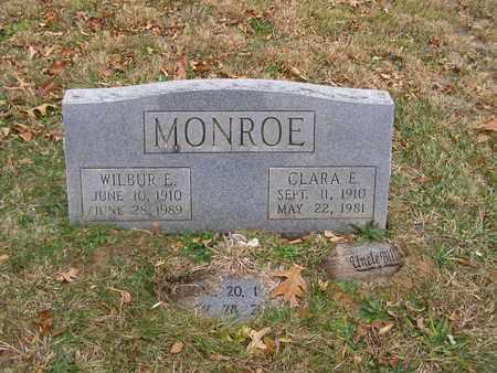 MONROE, WILBUR E - Hancock County, Kentucky | WILBUR E MONROE - Kentucky Gravestone Photos