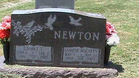 MCCARTY NEWTON, CORENE - Hancock County, Kentucky | CORENE MCCARTY NEWTON - Kentucky Gravestone Photos