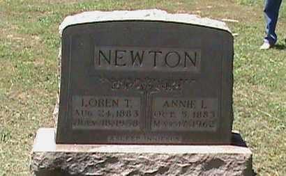 NEWTON, ANNIE L - Hancock County, Kentucky | ANNIE L NEWTON - Kentucky Gravestone Photos