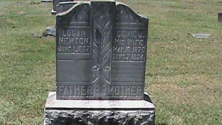 NEWTON, LOGAN - Hancock County, Kentucky | LOGAN NEWTON - Kentucky Gravestone Photos