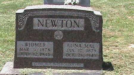 NEWTON, WIDMER - Hancock County, Kentucky   WIDMER NEWTON - Kentucky Gravestone Photos