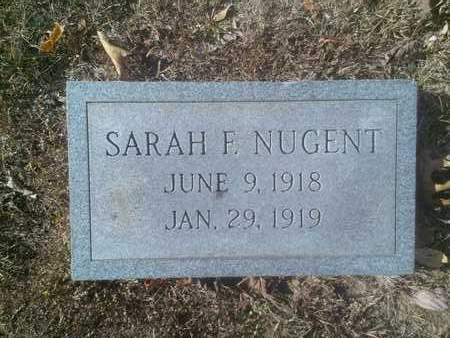 NUGENT, SARAH - Hancock County, Kentucky   SARAH NUGENT - Kentucky Gravestone Photos