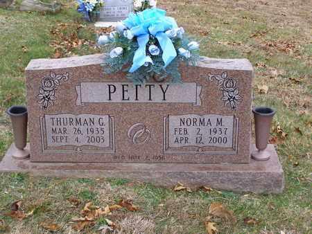 PETTY, NORMA M - Hancock County, Kentucky | NORMA M PETTY - Kentucky Gravestone Photos