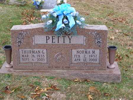 PETTY, NORMA M - Hancock County, Kentucky | NORMA M PETTY - Kentucky Gravestone Photos