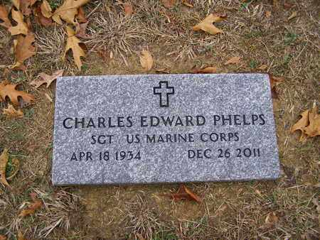 PHELPS (VETERAN), CHARLES EDWARD - Hancock County, Kentucky | CHARLES EDWARD PHELPS (VETERAN) - Kentucky Gravestone Photos