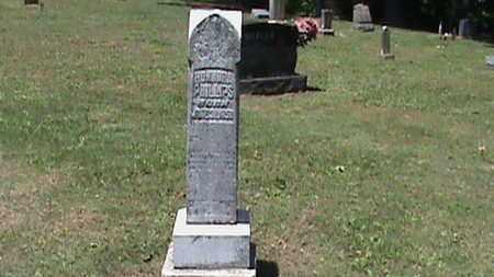 HUFF PHILLIPS, HONNORA - Hancock County, Kentucky | HONNORA HUFF PHILLIPS - Kentucky Gravestone Photos