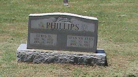 VICKERS PHILLIPS, NEVA - Hancock County, Kentucky   NEVA VICKERS PHILLIPS - Kentucky Gravestone Photos