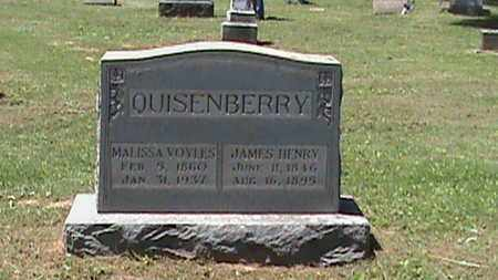 QUISSENBERRY, JAMES HENRY - Hancock County, Kentucky | JAMES HENRY QUISSENBERRY - Kentucky Gravestone Photos