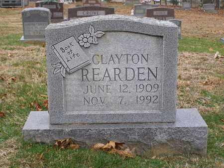 REARDEN, CLAYTON - Hancock County, Kentucky | CLAYTON REARDEN - Kentucky Gravestone Photos