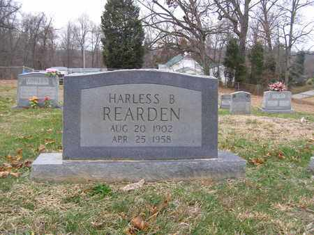 REARDEN, HARLESS B - Hancock County, Kentucky | HARLESS B REARDEN - Kentucky Gravestone Photos