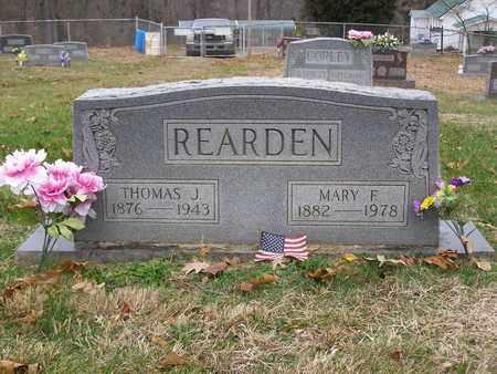 REARDEN, MARY F - Hancock County, Kentucky | MARY F REARDEN - Kentucky Gravestone Photos