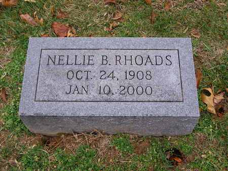 RHOADS, NELLIE B - Hancock County, Kentucky | NELLIE B RHOADS - Kentucky Gravestone Photos