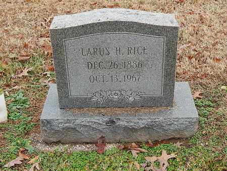 RICE, LARUS H - Hancock County, Kentucky | LARUS H RICE - Kentucky Gravestone Photos