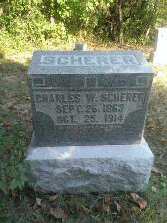 SCHERER, CHARLES - Hancock County, Kentucky | CHARLES SCHERER - Kentucky Gravestone Photos