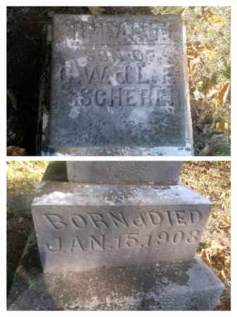 SCHERER, INFANT - Hancock County, Kentucky | INFANT SCHERER - Kentucky Gravestone Photos