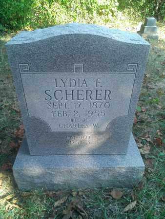 SCHERER, LYDIA - Hancock County, Kentucky | LYDIA SCHERER - Kentucky Gravestone Photos