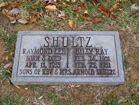 SHULTZ, BILLY RAY - Hancock County, Kentucky   BILLY RAY SHULTZ - Kentucky Gravestone Photos