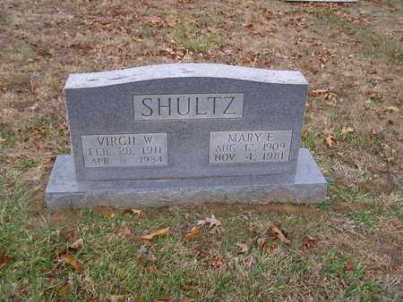 SHULTZ, VIRGIL W - Hancock County, Kentucky | VIRGIL W SHULTZ - Kentucky Gravestone Photos