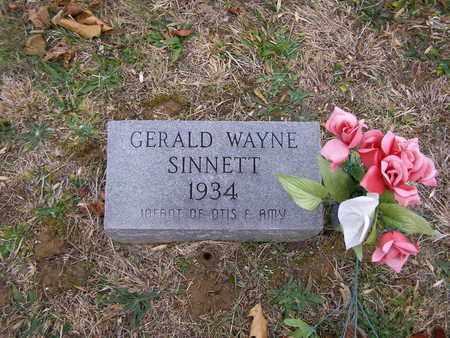 SINNETT, GERALD WAYNE - Hancock County, Kentucky | GERALD WAYNE SINNETT - Kentucky Gravestone Photos
