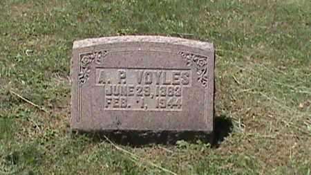 VOYLES, A P - Hancock County, Kentucky   A P VOYLES - Kentucky Gravestone Photos