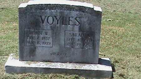 VOYLES, SARAH A - Hancock County, Kentucky | SARAH A VOYLES - Kentucky Gravestone Photos