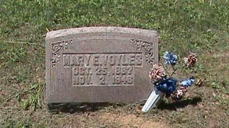 VOYLES, MARY E - Hancock County, Kentucky | MARY E VOYLES - Kentucky Gravestone Photos