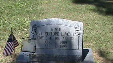 VOYLES (VETERAN WW2), RETFORD L - Hancock County, Kentucky | RETFORD L VOYLES (VETERAN WW2) - Kentucky Gravestone Photos