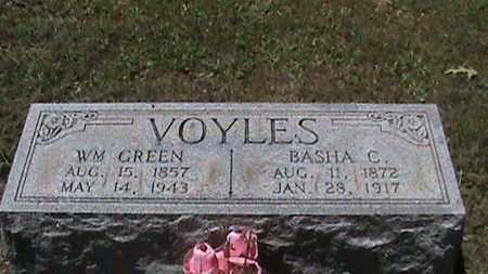 VOYLES, BASHA C - Hancock County, Kentucky | BASHA C VOYLES - Kentucky Gravestone Photos