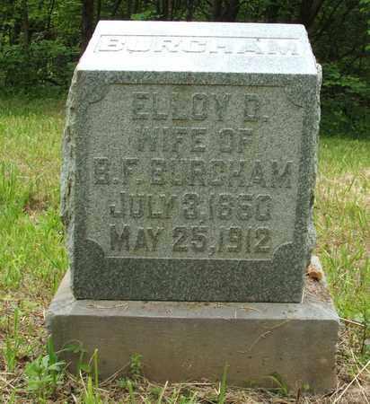 BURCHAM, ELLOY D. - Hardin County, Kentucky   ELLOY D. BURCHAM - Kentucky Gravestone Photos
