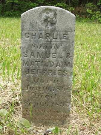 JEFFRIES, CHARLIE - Hardin County, Kentucky   CHARLIE JEFFRIES - Kentucky Gravestone Photos