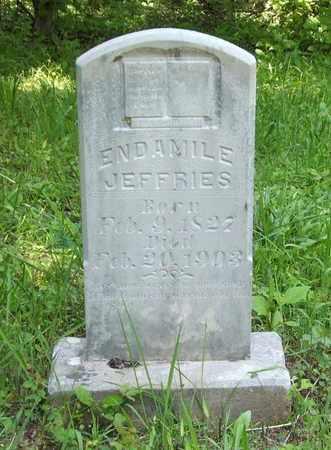 SAMUELS JEFFRIES, ENDAMILE - Hardin County, Kentucky | ENDAMILE SAMUELS JEFFRIES - Kentucky Gravestone Photos