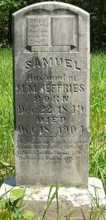 JEFFRIES, SAMUEL - Hardin County, Kentucky | SAMUEL JEFFRIES - Kentucky Gravestone Photos
