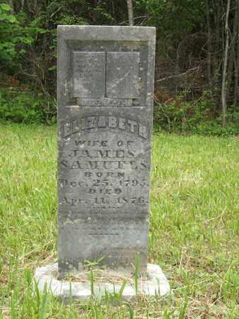 SAMUELS, ELIZABETH - Hardin County, Kentucky | ELIZABETH SAMUELS - Kentucky Gravestone Photos