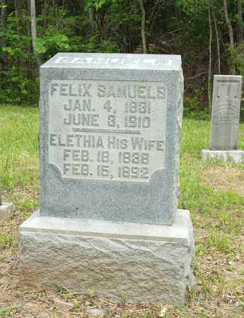 SAMUELS, ELETHIA - Hardin County, Kentucky | ELETHIA SAMUELS - Kentucky Gravestone Photos