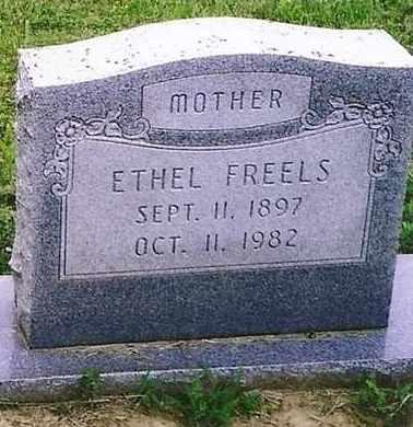 FREELS, ETHEL - Henderson County, Kentucky | ETHEL FREELS - Kentucky Gravestone Photos